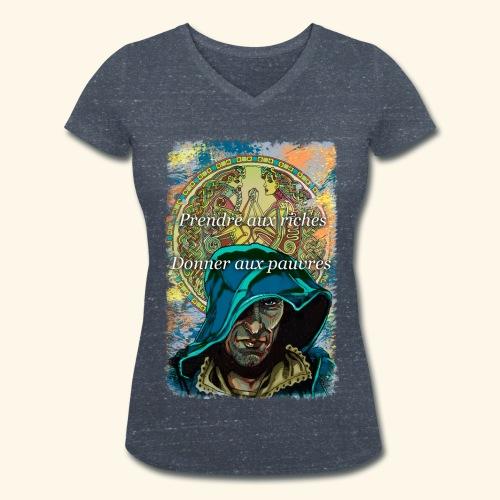 The hood - T-shirt bio col V Stanley & Stella Femme