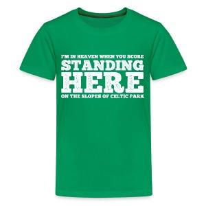Standing Here - Teenage Premium T-Shirt