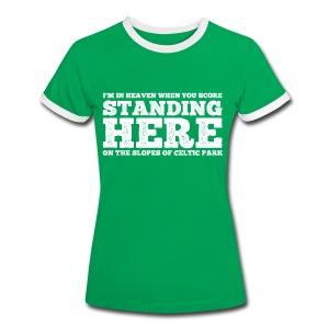 Standing Here - Women's Ringer T-Shirt