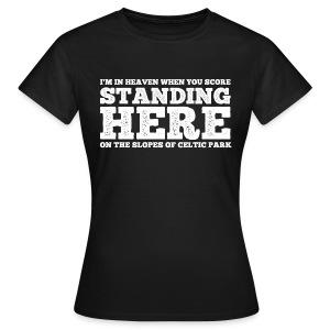 Standing Here - Women's T-Shirt