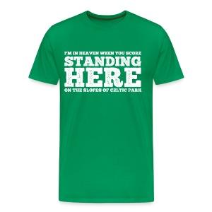 Standing Here - Men's Premium T-Shirt