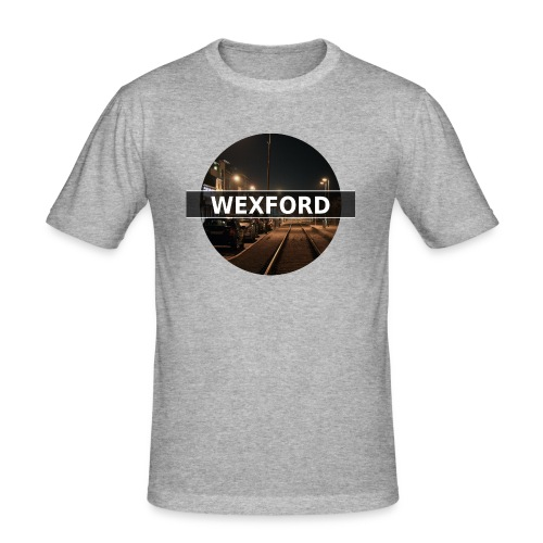 Wexford Town - Men's T-Shirt - Men's Slim Fit T-Shirt