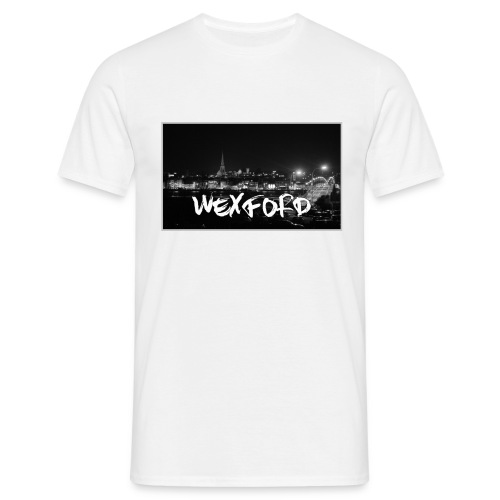Wexford - Black & White - Men's T-Shirt - Men's T-Shirt