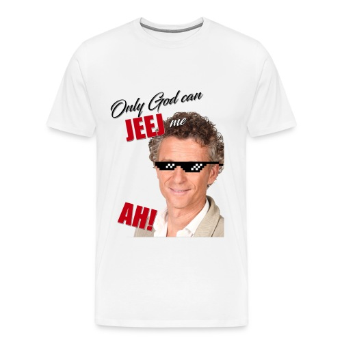 T-shirt Only god can jeej me - T-shirt Premium Homme
