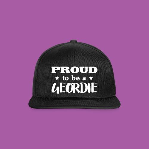 Proud to be a Geordie - Snapback Cap