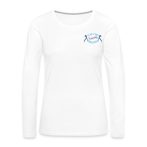 TCuQV Frauen-Langarm leichte Qualität - Frauen Premium Langarmshirt