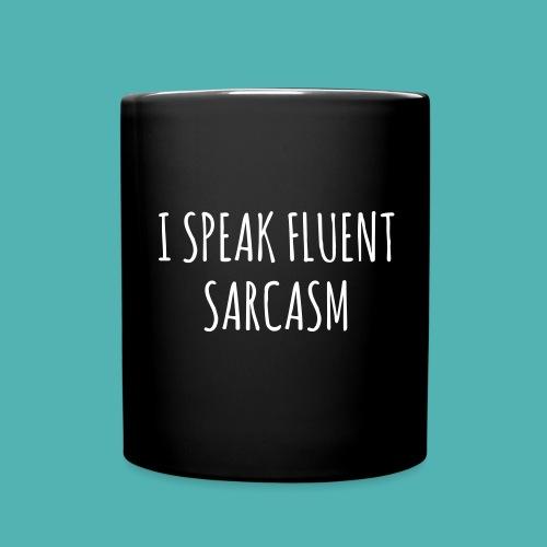 Sarcasm Mug - Full Colour Mug