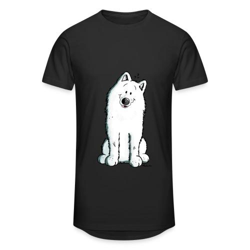 T-SHirt Loup Humour Noir Homme - T-shirt long Homme