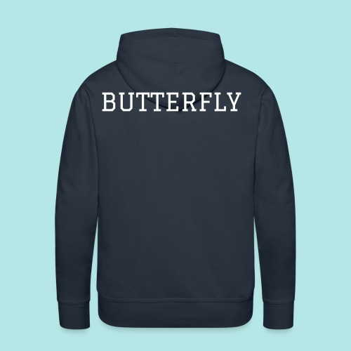 Butterfly Love Mens - Men's Premium Hoodie