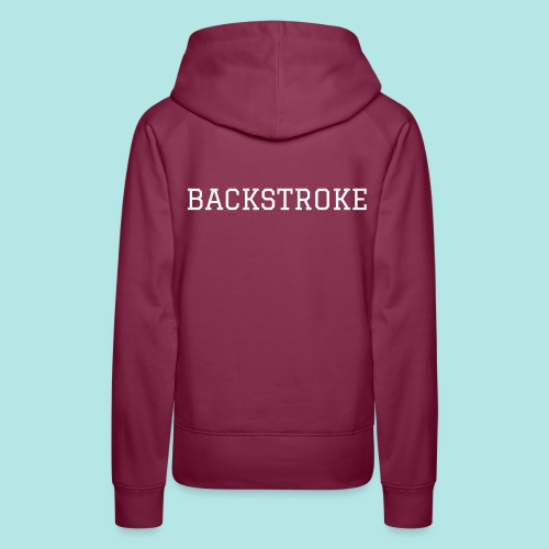Backstroke Love Womens - Women's Premium Hoodie