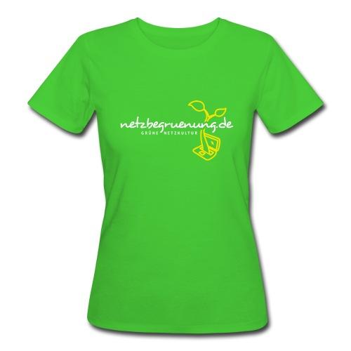 Netzbegrünungs-Shirt Classic Frauen (Bio) - Frauen Bio-T-Shirt