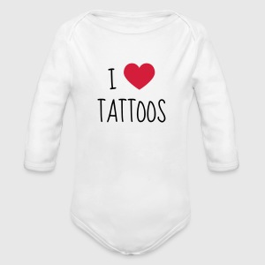 Tatoo / Tattooed / Tattooist / Biker / Piercing Baby Bodysuits - Longlseeve Baby Bodysuit