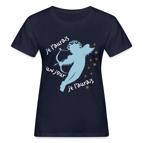 Tshirt en coton Bio Cupidon tire une flèche - Women's Organic T-Shirt