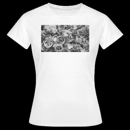 T-Shirt Femme Eclat de roses - T-shirt Femme