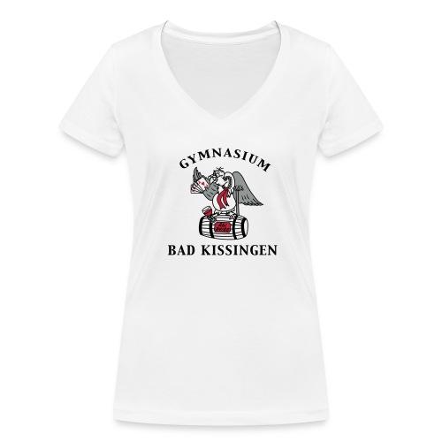 Mädels 3farbig - Frauen Bio-T-Shirt mit V-Ausschnitt von Stanley & Stella