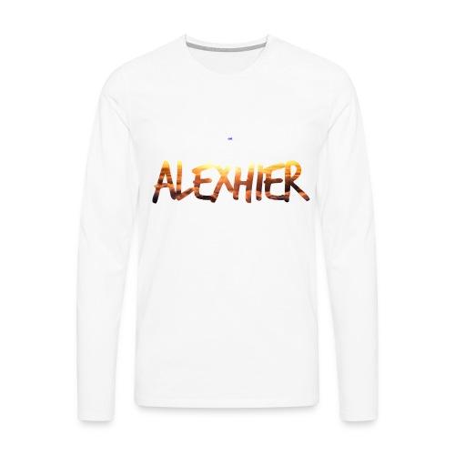 AlexHier_Lange Mouwen - Men's Premium Longsleeve Shirt