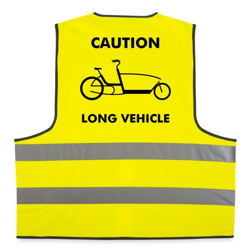 Caution Long Vehicle - Warnweste