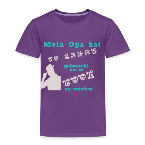 Mein cooler Opa Shirt - Kinder Premium T-Shirt