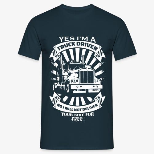 Truck Driver - T-Shirt - Männer T-Shirt