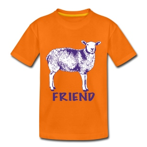 Sanchez purple on kids' t-shirt - more colours available - Kids' Premium T-Shirt