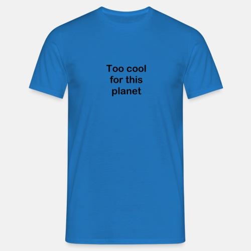 Planet - Männer T-Shirt