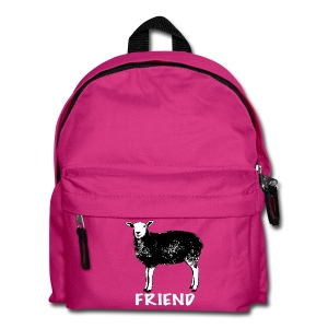 Marion black on kids' backpack - more colours available - Kids' Backpack