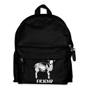 Sanchez black on kids' backpack - more colours available - Kids' Backpack
