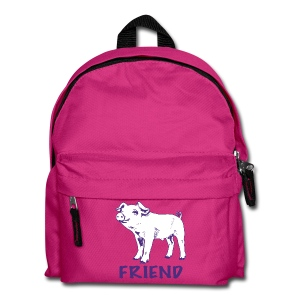 piglet Lottie purple on kids' backpack - more colours available - Kids' Backpack