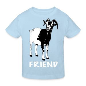 Gary black on organic kids' t-shirt - more colours available - Kids' Organic T-shirt