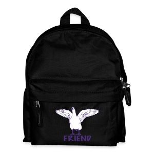 George purple on kids' backpack - more colours available - Kids' Backpack