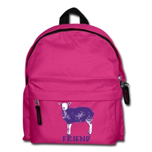Marion purple on kids' backpack - more colours available - Kids' Backpack