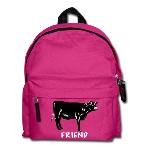 Rosie black on kids' backpack - more colours available - Kids' Backpack