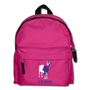 Gary purple on kids' backpack - more colours available - Kids' Backpack