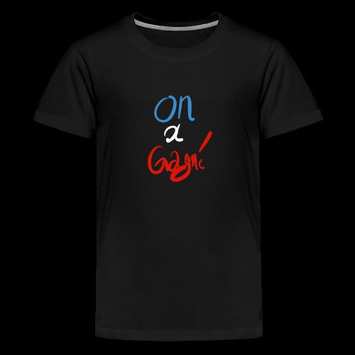 T-shirt Homme (ado) On à gagné! - T-shirt Premium Ado