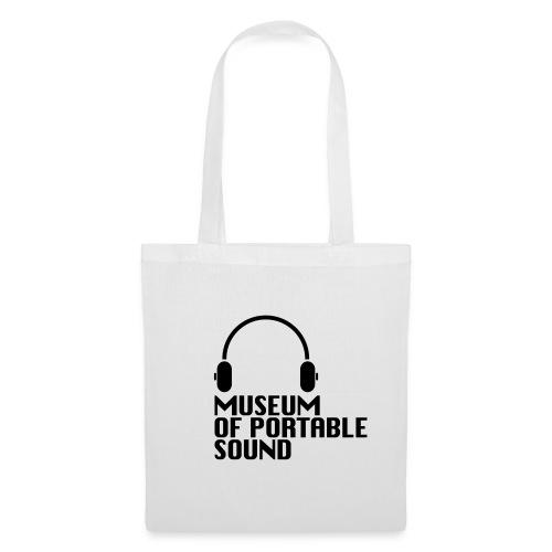 Museum of Portable Sound minimal canvas bag - Tote Bag