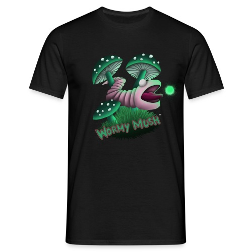 T-shirt Wormy Mush for men - Men's T-Shirt