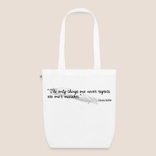 Tote bag - Oscar Wilde Quote - Sac en tissu biologique