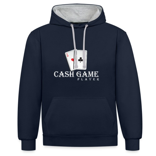 Kontrast-Hoodie - poker wear,T-Shirt,Poker-shirt,Poker,Cash Game