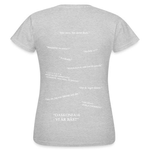 OASKONFA16 - DAM - T-shirt dam