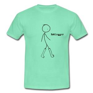 Rørleggerskjorte - T-skjorte for menn