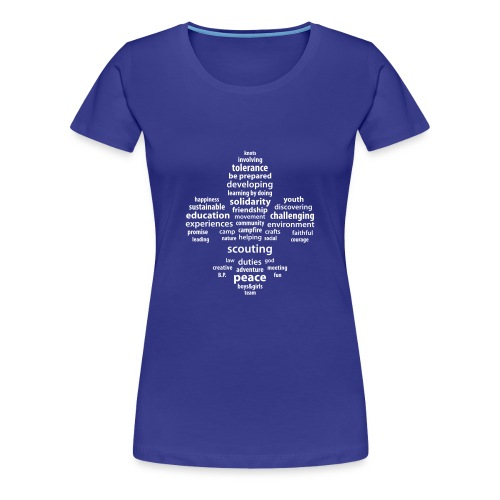 Scouting is... - Frauen Premium T-Shirt