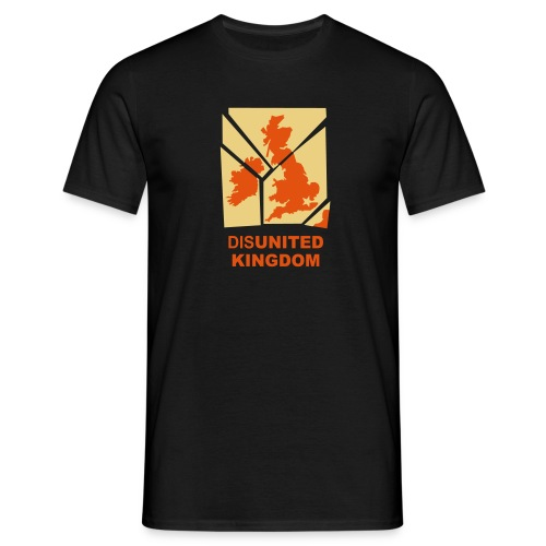 disUnited Kingdom black - Men's T-Shirt