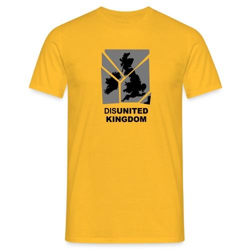 disUnited Kingdom yellow - Men's T-Shirt