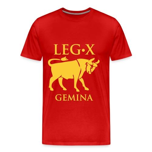 Vexillum della X legione Gemina - Maglietta Premium da uomo