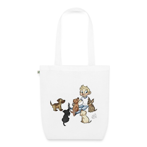Dog bag no grass - EarthPositive Tote Bag