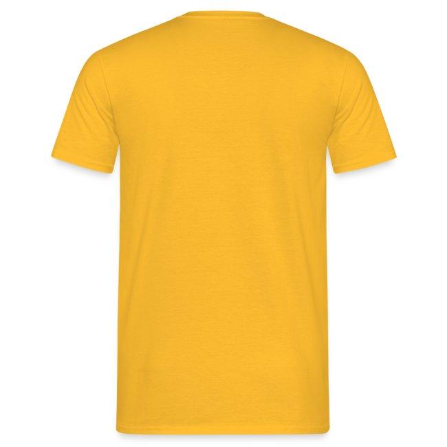 Männer-T-Shirt mit Farbenschildkröte