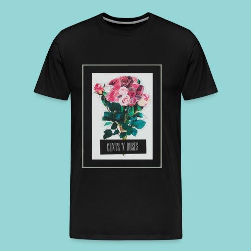 CUNTSNROSES - Männer Premium T-Shirt
