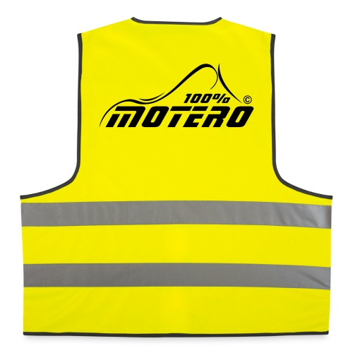 100% Motero - Chaleco reflectante