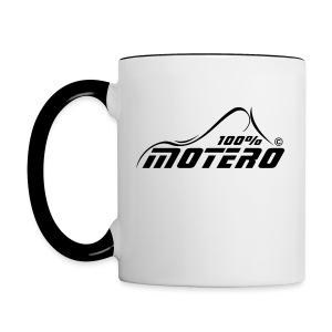 100% Motero - Taza en dos colores