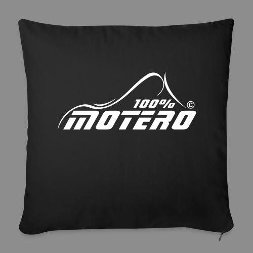 100% Motero - Funda de cojín, 44 x 44 cm